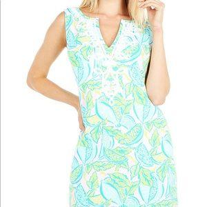 NWT Lilly Pulitzer Harper Shift Dress Multicolor L